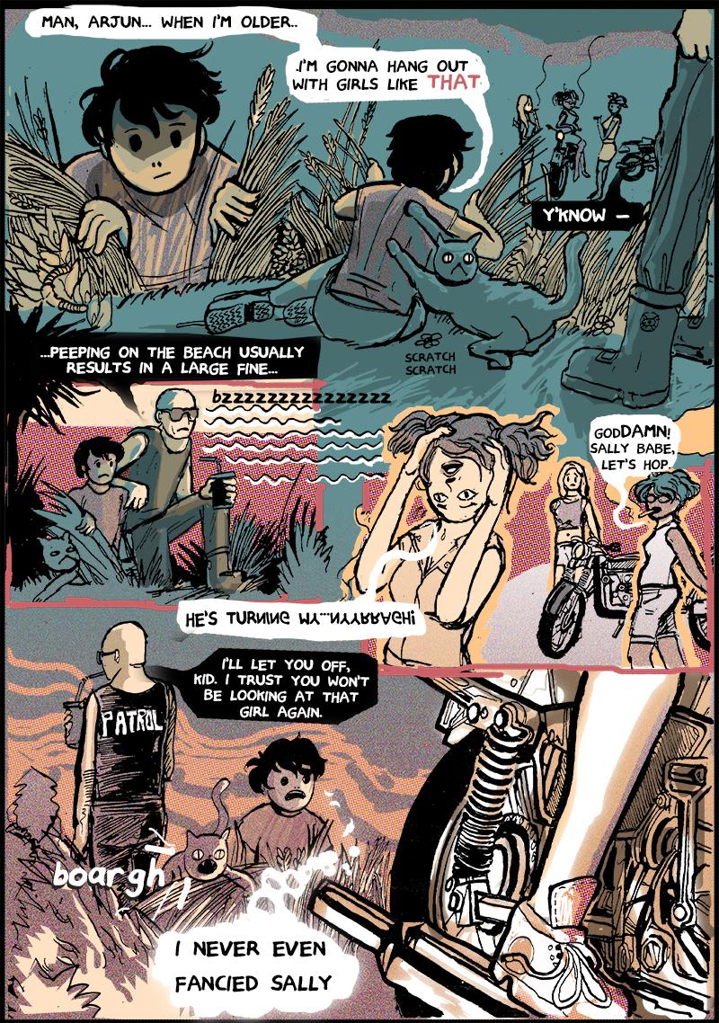 Petty Beach 2, Page 1