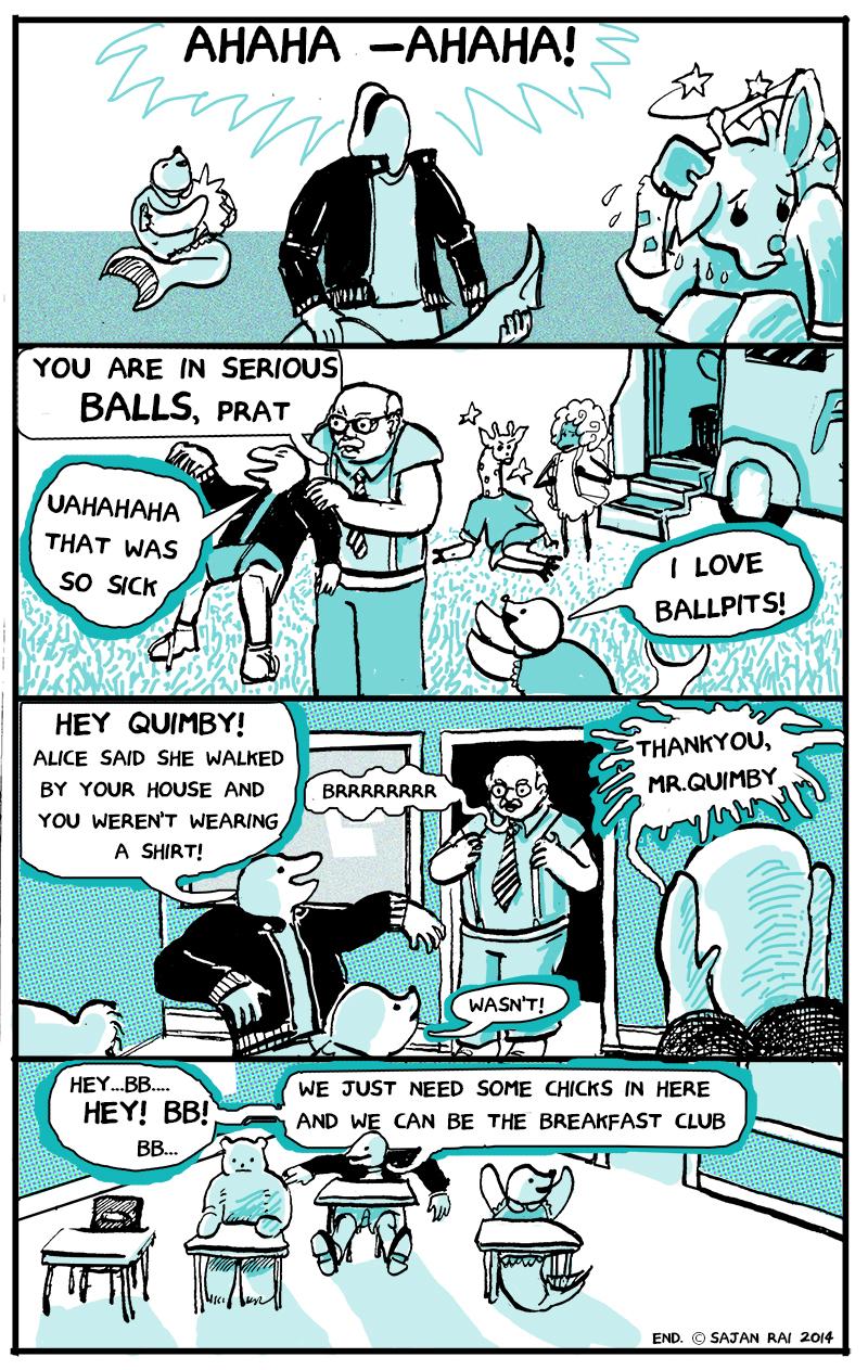 Brocko 'n Frens, page 14